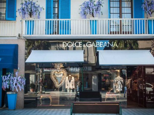 Dolce & Gabbana Shop – Milano (MI) and Forte dei Marmi (LU)